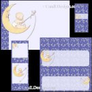 Moon & Stars Baby Candy Wrapper/Party Favors Set [db082]