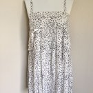 Gorgeous Fendi Black & White Silk Summer Dress 40