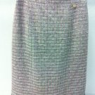 11P CHANEL Tweed Sequins Embellished  Runway Skirt NWT Size 38 FR