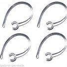 4 c EAR HOOK LOOP CLIP Compatible Samsung Hm1100, Hm 1100, Hm1200, Hm 1200, 1000