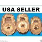 3 CLEAR LARGE EARGEL FOR PLANTRONICS M1100 M155 HEADSET EAR BUD GEL TIP M CG12