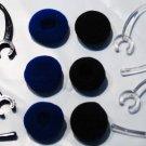 10 MOTOROLA H270 h371 EAR HOOK  BUD ASSORTED MULTI-PACK