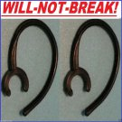 2 NoBREAK® EarHook Upgrade for: Samsung HM6000 HM 1600 Loop Clip Wire bud holder