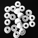 Skullcandy 40 pc WHITE MED Replacement EARBUD Tips for in-ear Earphones USA