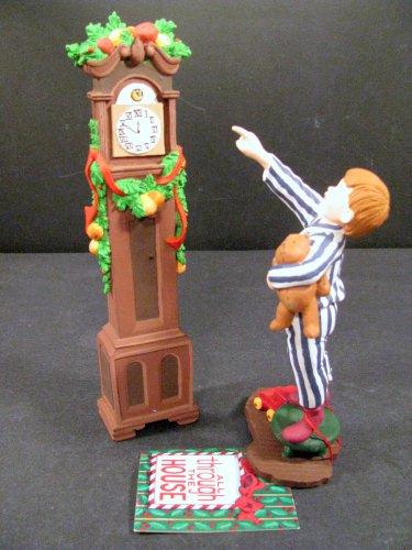 Dept 56 All Through The House Theodore Adjusting Time #9312-2