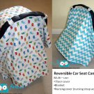 Custom Reversible Car Seat Canopy