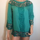 Hippie top Hippie People Bohemian Free Spirit lace tunic blouse MEDIUM