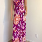 FLORAL MAXI DRESS PURPLE WHITE LONG FORMAL REVOLVE SMALL