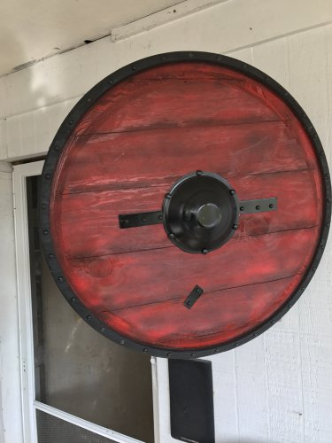 24 inch Ragnar Lothbrok Viking Shield