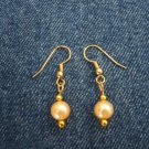 Pearl-like earrings