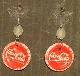 Recycled coke bottle caps