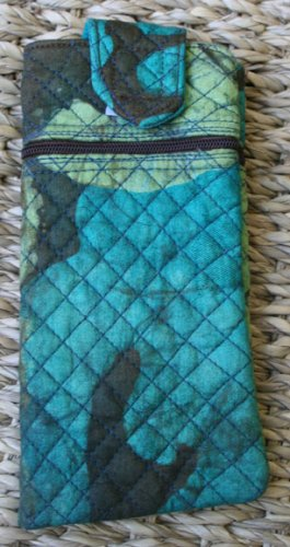 African Cloth Eyeglass Case