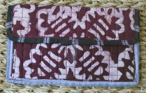 African Cloth Wallet