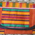 African Cloth Tri-fold Wallet