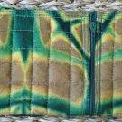 African Cloth Zip Purse