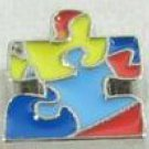 puzzle piece foating charm