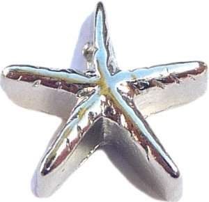 sea star floating charm
