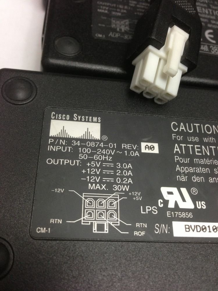 Cisco Power Supplies ADP-30RB -- 34-0874-01