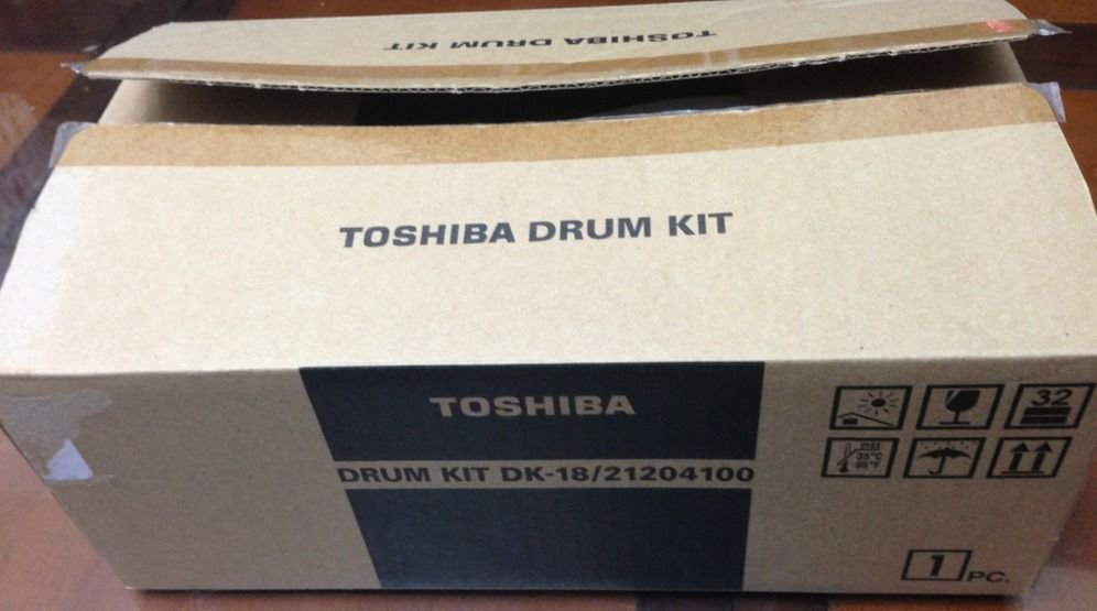 OEM Toshiba Drum Kit DK-18 /21204100 for DP-80F/85F - Open Box