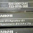 Lot of 5 x Boxes - CANON STAPLE-E1 - F23-5705-000 - 0251A001AA