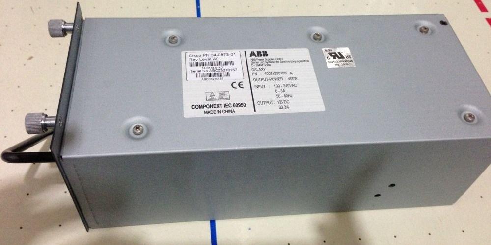 Cisco Catalyst 4000 Series 400W Power Supply 34-0873-01