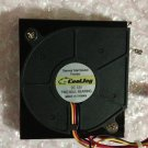 For EVERFLOW 6015 B126015BU 12V 0.40A 6cm turbo blower fan 60 * 15MM