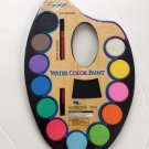 12 COLORS WATER COLOR PAINT SET--BRUSH INCLUDED