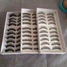 30 Pairs Natural Black Long False Eyelashes Makeup Eye Lash (3 Boxes) ^^