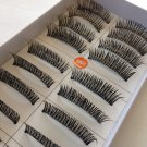 High Quality Handmade 10 Pairs Cross Charming Soft False Eyelashes #M01