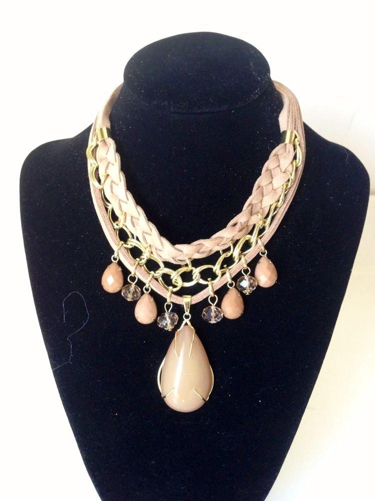 Elegant Simple Stylish Multi Color bib Necklace
