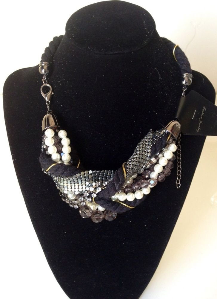 Elegant Simple Stylish Multi bib Necklace