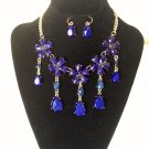 New Arrive  Bib Statement Necklace Earring Set