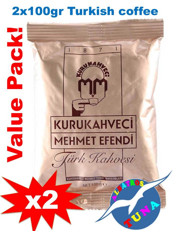 Turkish Coffee by Kurukahveci Mehmet Efendi 2x100 gr.