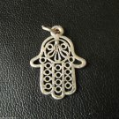 Vtg Kid's Children's Jewelry Pendant Talisman Amulet Mascot Plated Copper Charm