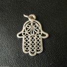 Vtg Kid's Children's Jewelry Pendant Talisman Amulet Mascot Plated Copper Charm