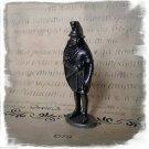 Knight Shield Iron Kinder Surprise Metal Soldier Figurine Vintage Toy 4 cm