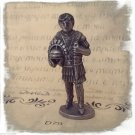 Knight Helmet Sword Iron Kinder Surprise Metal Soldier Figurine Vintage Toy 4 cm