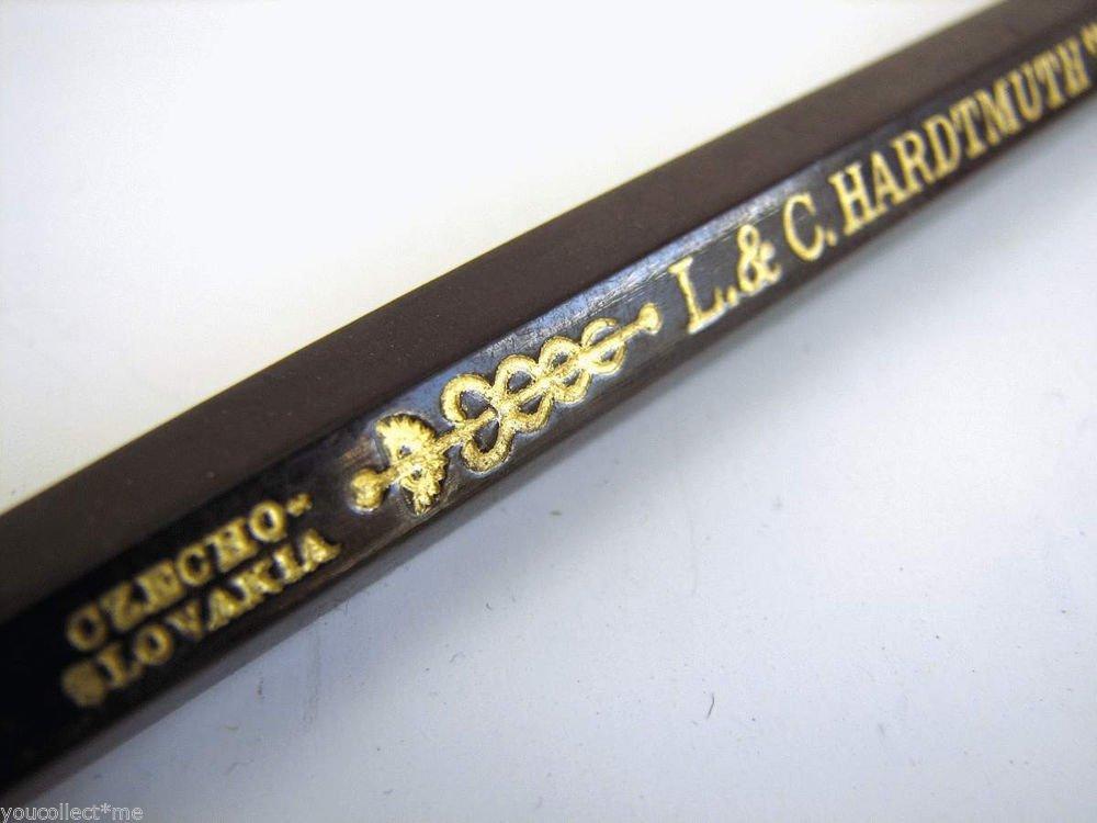 L. & C. HARDTHMUTH Koh-I-Noor 700 Vintage 2 Color Oversize Pencil Unused NOS