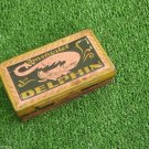 Vtg Stamp Ink Pad Immortel Delphin V.Pech Zagreb Croatia Dragon Litho Tin Box
