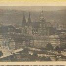Praha Hradcany Vintage Photograph Tourist Suvenir B&W Photo Prague Hradschin #1