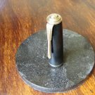 "VINTAGE FOUNTAIN PEN CAP BRASS CLIP & TRIM SIGNED ""POBEDA"" - VICTORY 1970'S RARE"
