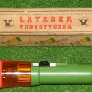 Rare Vintage Flashlight 3 color Multifunction D Size Battery Plastic Body Boxed