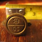 vintage brass seal military staff secure doors vehicle load storage rooms E-20