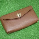 Vintage Bike Bag Bicycle Repair Tools Brown Saddle Pouch Soviet USSR 1970's