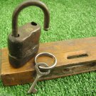 Vintage Padlock Small Kid Child Diary Locker Pad Lock w/ Key Germany 1970s Works