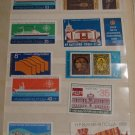 Vintage Bulgaria Postage Stamps Lot Set
