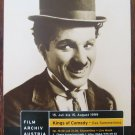 Charles Chaplin photo kings of Comedy Festival Austria 1999 shedule program card