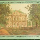 Dacha Palace Sadovnikov Watercolor Painting 1850 Vintage Postcard USSR