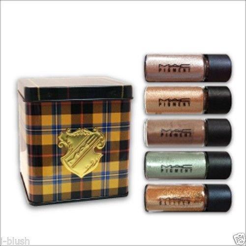 M.A.C Warm Thrillseekers Pigments/Glitter Set