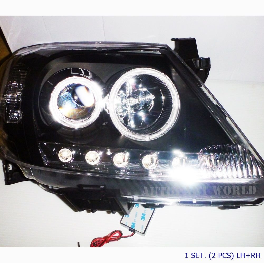 2003 06 08 09 11 PROJECTOR LED HEAD LIGHT LAMP TOYOTA HILUX VIGO MK6 SR TNG KUN